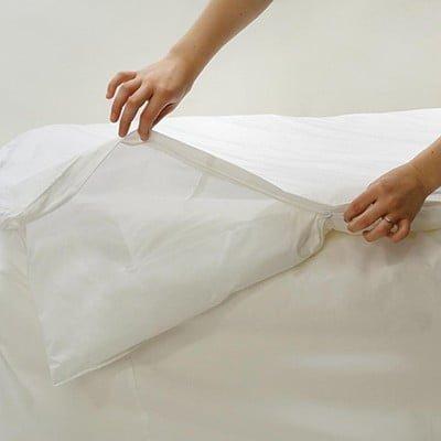 Αδιάβροχη θήκη κουβέρτας με φερμουάρ